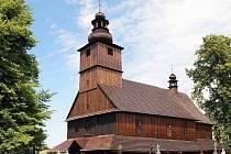 Sedlišťský dřevěný kostel je chloubou obce.