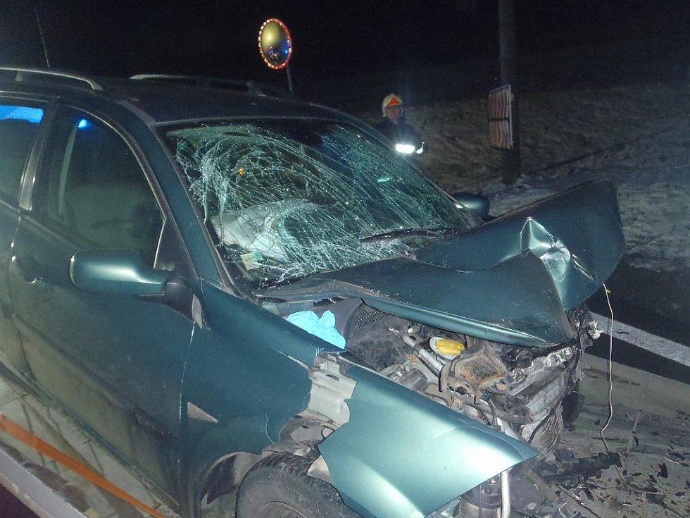 Tragická dopravní nehoda v Mostech u Jablunkova.
