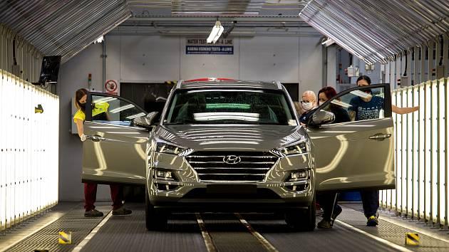 Automobilka Hyundai v Nošovicích.