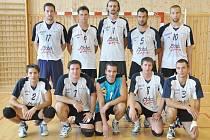 Druholigový tým Sokola Palkovice.