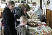 Zahrádkáři z Morávky zahájili tradiční velikonoční výstavu.