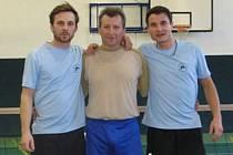 Vítězem druhého letošního turnaje v Zimní nohejbalové lize se stali po zásluze Kvardi. foto