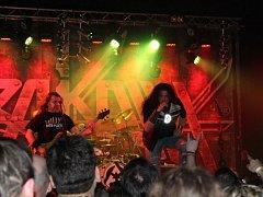 Legendární metalová kapela Arakain zavítala v rámci jarního turné také do Frýdlantu nad Ostravicí.
