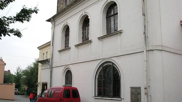 Kostel sv. Jana Křtitele ve Frýdku.