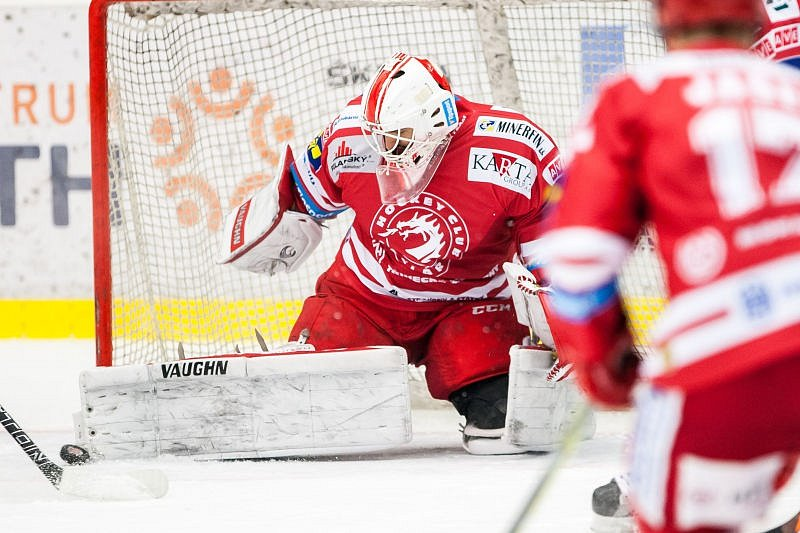 Mountfield Hradec Králové - HC Oceláři Třinec 3:2