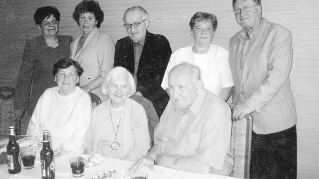 Členové matice Slezské odbor místecký.