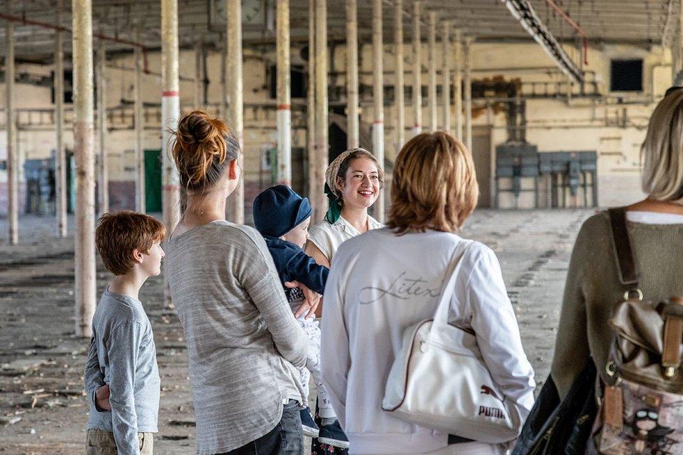 Návštěvníci se  podívají do míst, které utvářely textilní historii města