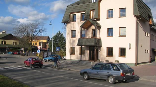 Radnice v Bystřici nad Olší.