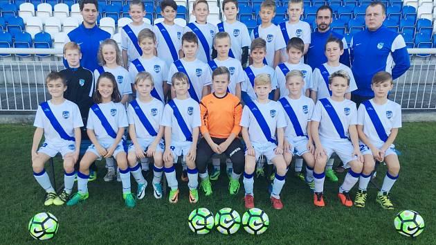 Fotbalisté MFK Frýdek-Místek U11.
