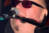 Jan Kalina během vystoupení v třineckém Barrocku.