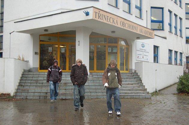 Magisterské studium bude probíhat v budově třinecké obchodní akademie. Ilustrační snímek.
