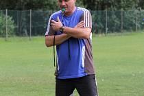 Mikuláš Radványi v době, kdy trénoval fotbalisty MFK Frýdek-Místek.