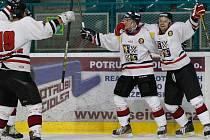 Frýdecko-místečtí hokejisté. Ilustrační snímek.