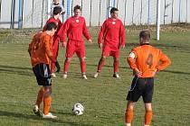 Fotbalový zápas Fulnek versus Frýdek-Místek rozhodla penalta.