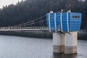 Stavební práce na největší beskydské vodní nádrži Šance trvaly tři roky. Stály bezmála půl miliardy korun.