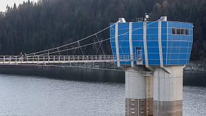 Zrekonstruovaná přehrada Šance