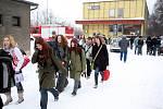 Více než dvě desítky zraněných osob si podle průběžných informací vyžádala srážka dvou osobních vlaků, ke které došlo 16.2.2009 krátce po deváté hodině ranní v Paskově na Frýdecko-Místecku.