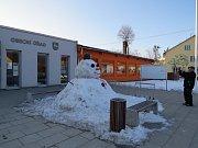 Festival sněhu v Morávce.
