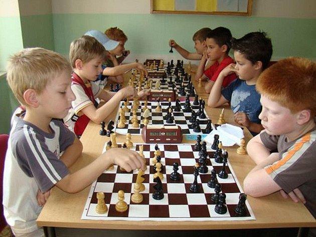 Mládežnický turnaj v rapid šachu.