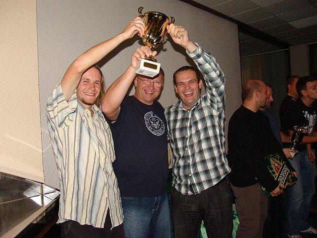 Vítězný tým mužů Frýdku-Místku.