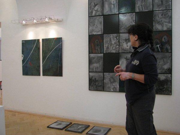 Více než dvacetiletou tvorbu Evy Kučerové-Landsbergrové zFrýdku-Místku voblasti průmyslového smaltu představí sedmé trienále smaltu ve frýdecko-místeckém Muzeu Beskyd.