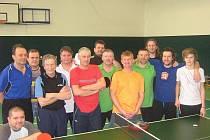 Ve sviadnovské tělocvičně proběhl další ročník tradičního dubnového turnaje ve stolním tenise neregistrovaných hráčů.
