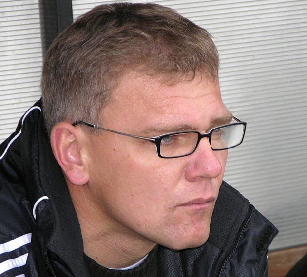 Olomoucký kouč Jiří Balcárek.