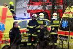 Výbuch poškodil objekt celnice v paskovském překladišti.