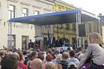 Prezident Miloš Zeman při středeční návštěvě Jablunkova.