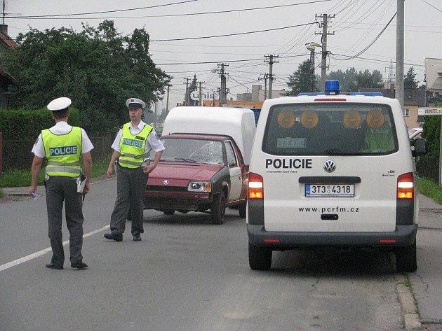 Vážná dopravní nehoda ve Sviadnově.