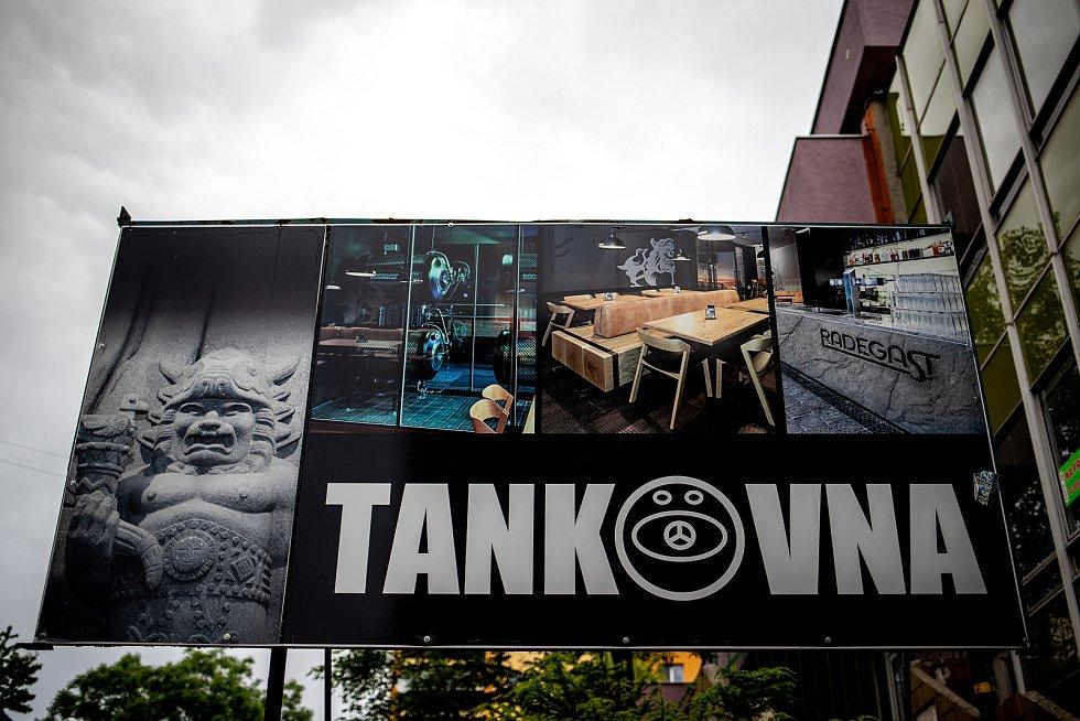 Radegastovna Tankovna, 5. června 2020 ve Frýdku-Místku.