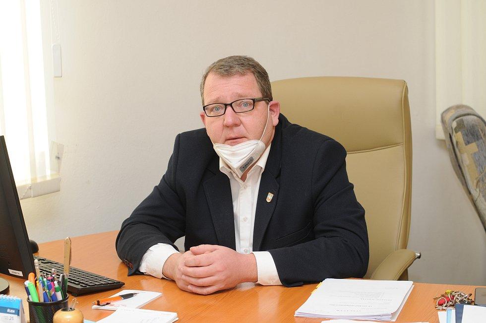 Starosta Sviadnova David Novák