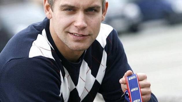 Petr Gřegořek - mistr světa v ledním hokeji 2010.