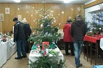 O vánoční výstavu v Morávce byl už od soboty velký zájem.