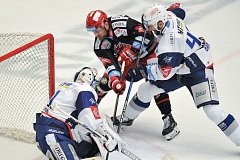 Finále play off hokejové extraligy - 2. zápas: HC Oceláři Třinec vs. HC Kometa Brno.