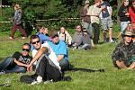 Čtyřiadvacetihodinový festival taneční hudby se koná až do neděle 31. sprna v soukromém areálu Mazák v Ostravici.