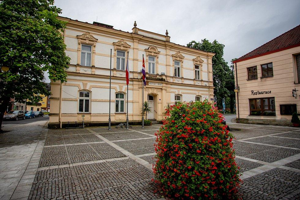 Městský úřad ve Frýdlantu nad Ostravicí, 5. srpna 2020.
