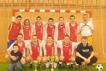Vítěz předchozího ročníku Frýdecko-místecké sálové ligy, mužstvo Armostavu.