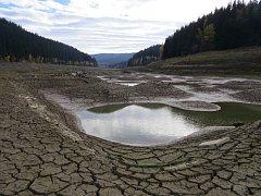 Beskydská přehrada Šance.