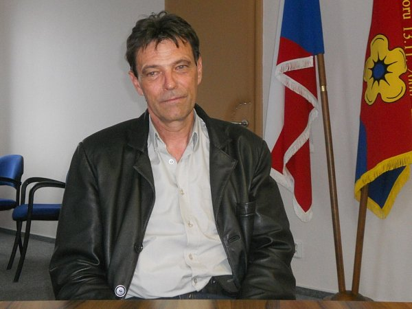 Starosta Lučiny Josef Skokan.