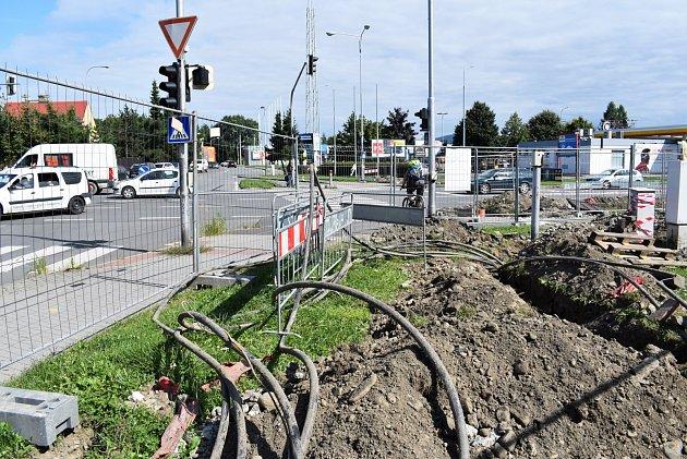 Ve Frýdku-Místku budou při modernizaci křižovatky použity nové technologie, především videodetektory.