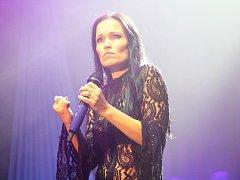 Koncert finské rockové zpěvačky Tarji Turunen v Třinci.