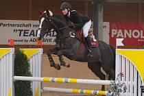Gabriela Hájovská na koni Ares 3 ze Supreme Opava.