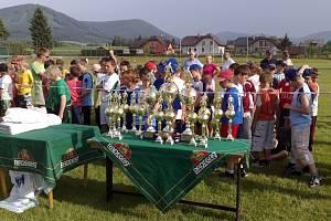 Kozlovice hostily koncem května mezinárodní fotbalový turnaj benjamínků – Beskydský pohár 2008.