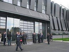 Integrované výjezdové centrum ve Frýdecké ulici v Třinci.
