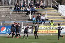 Fotbalisté Frýdku-Místku dokázali obrátit nepříznivý vývoj domácího zápasu s Hradcem Králové, který nakonec před tisíci fanoušky porazili 2:1.