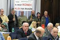 Snímky z pondělního jednání frýdecko-místeckého zastupitelstva.