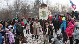 Lašský král přednesl svůj novoroční projev na Čupku