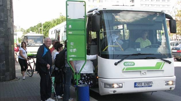 Autobus MHD ve Frýdku-Místku.