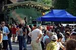 Oblíbený Bierfest v Nýdku proběhl na místním náměstí. Slavnosti piva doprovázel bohatý kulturní program, kde hlavním lákadlem byl večerní koncert Dogy, ale nechyběla ani Bystřičanka či Elán revival.